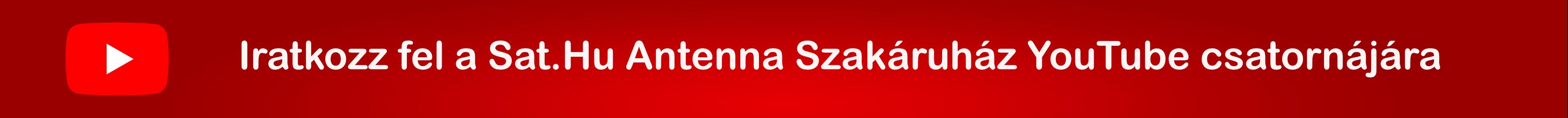 Sat.Hu Antenna Szakáruház YouTube csatorna